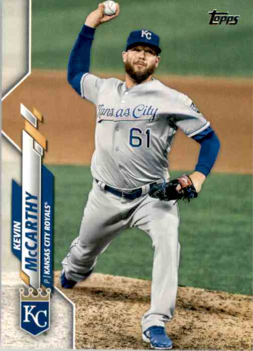 2020 Topps Kevin McCarthy #331 card front image