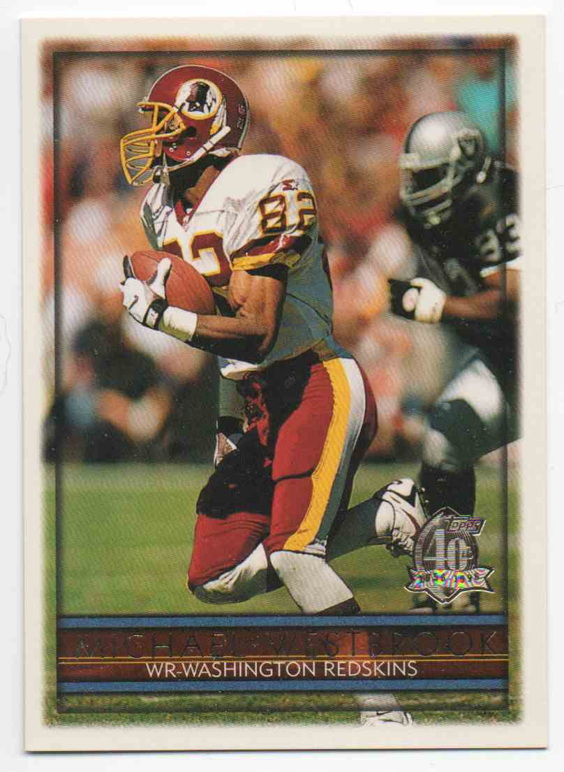 1996 Topps Michael Westbrook #57 card front image