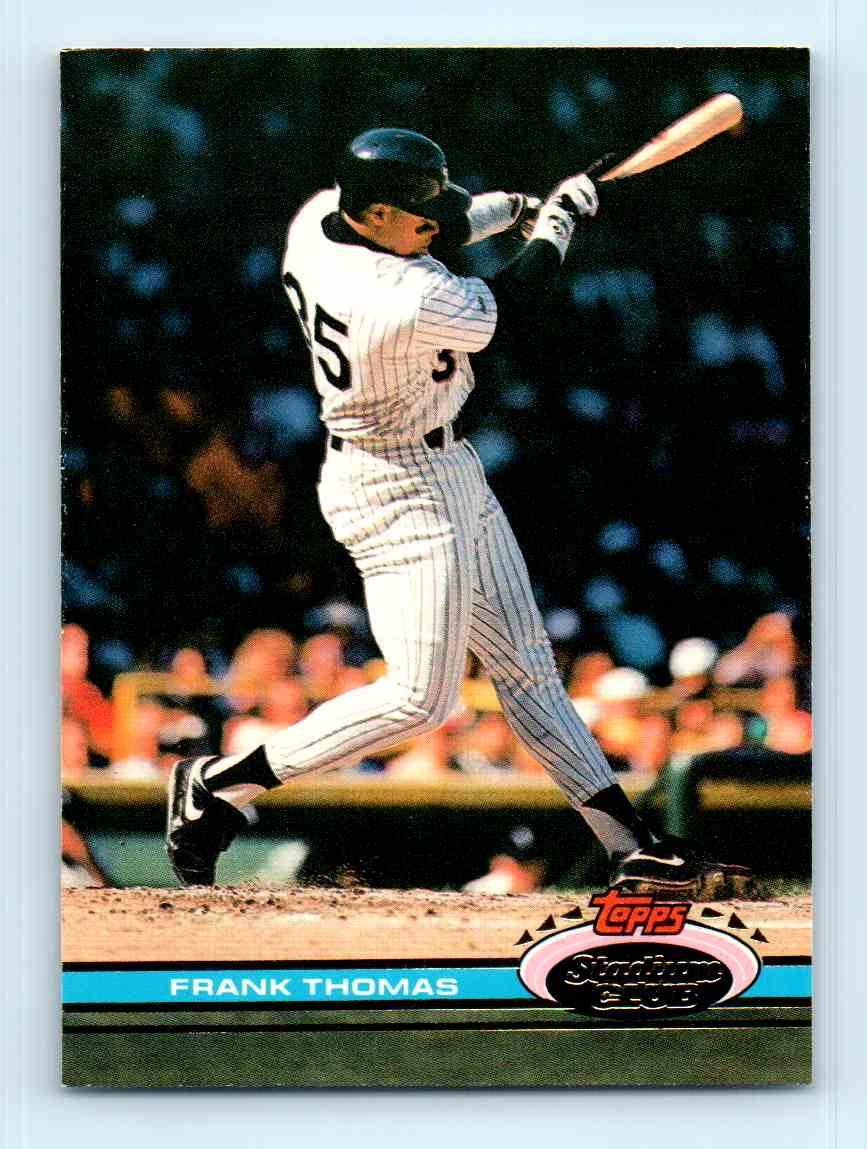 1991 Topps Stadium Club Frank Thomas 57 On Kronozio