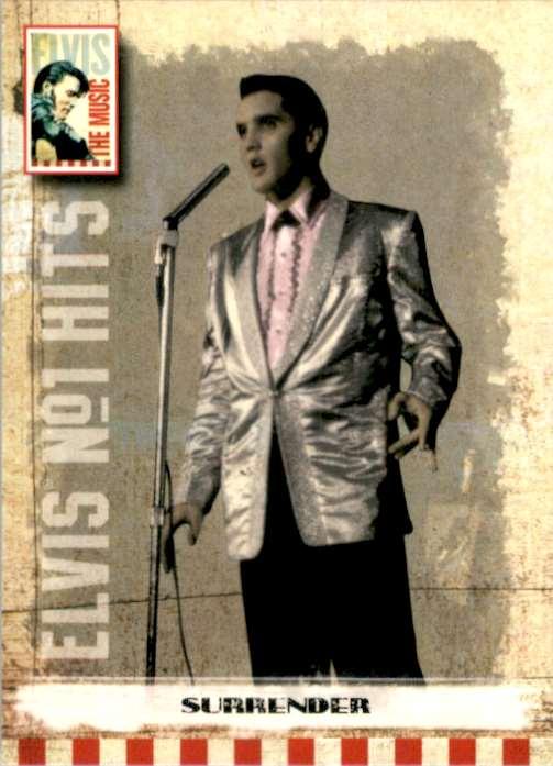 2007 Elvis The Music Surrender #18 card front image