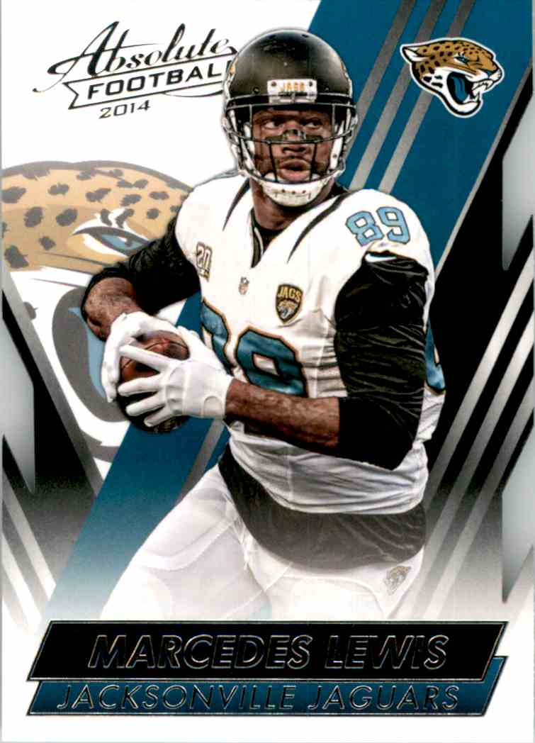2014 Absolute Retail Marcedes Lewis #38 card front image