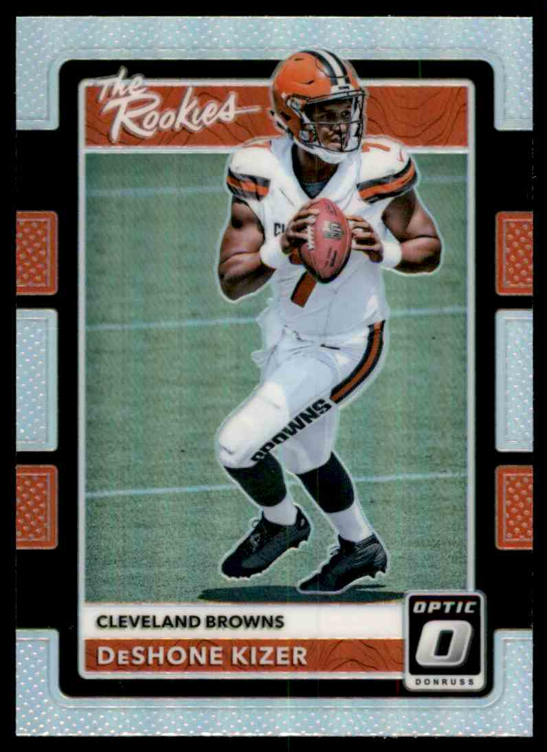2017 Donruss Optic The Rookies DeShone Kizer #15 card front image