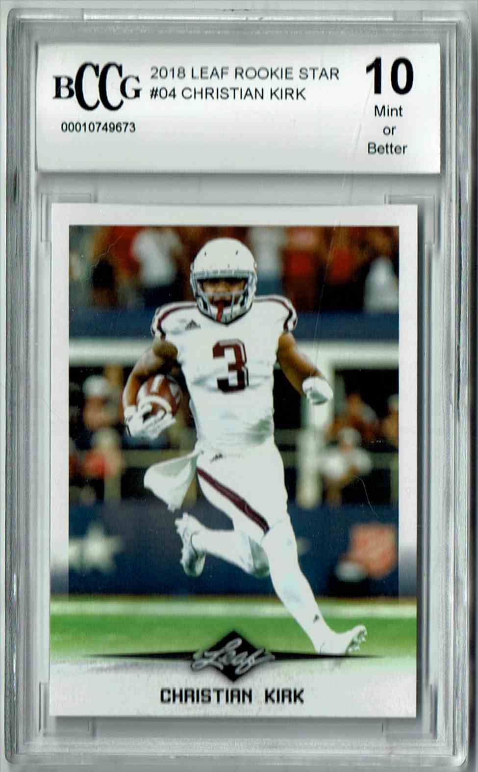 8dace2316 43 Christian Kirk trading cards for sale