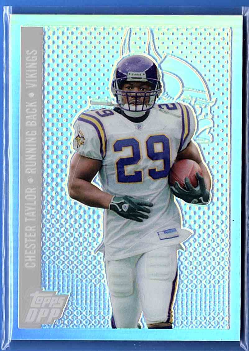 2014 Topps Draft Picks And Prospects Chrome Silver Refractors Chester Taylor #107 card front image