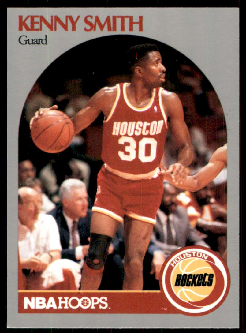 1990-91 Hoops Kenny Smith #414 card front image
