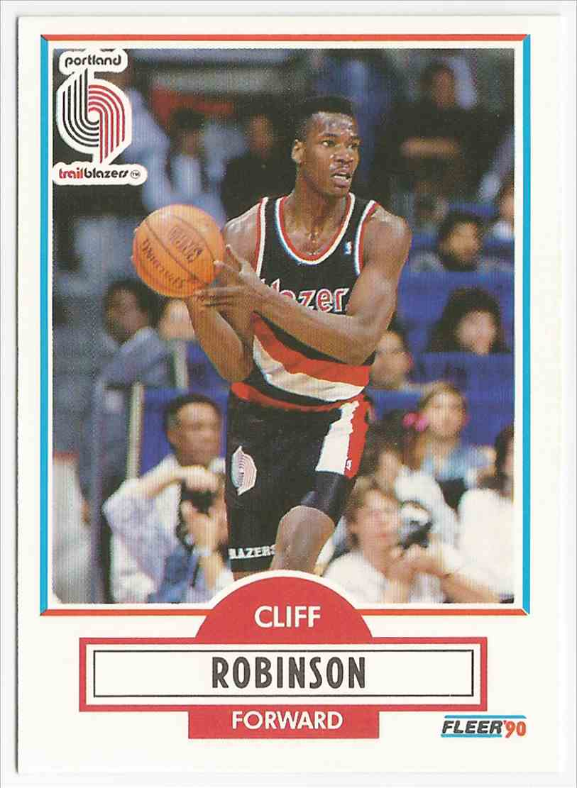 2 Clifford Robinson RC trading cards for sale