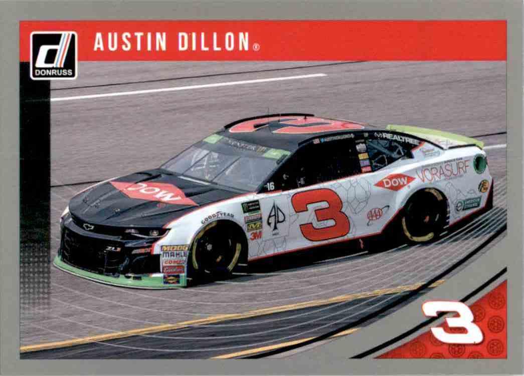2019 Donruss Silver Austin Dillon #95 card front image