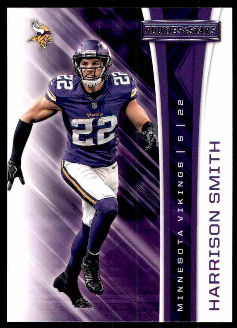 2017 Rookies And Stars Harrison Smith #162 card front image