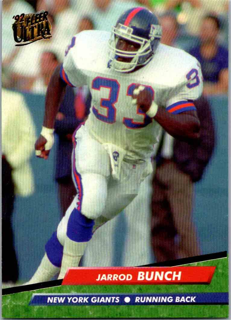 1992 Fleer Ultra Jarrod Bunch #273 card front image