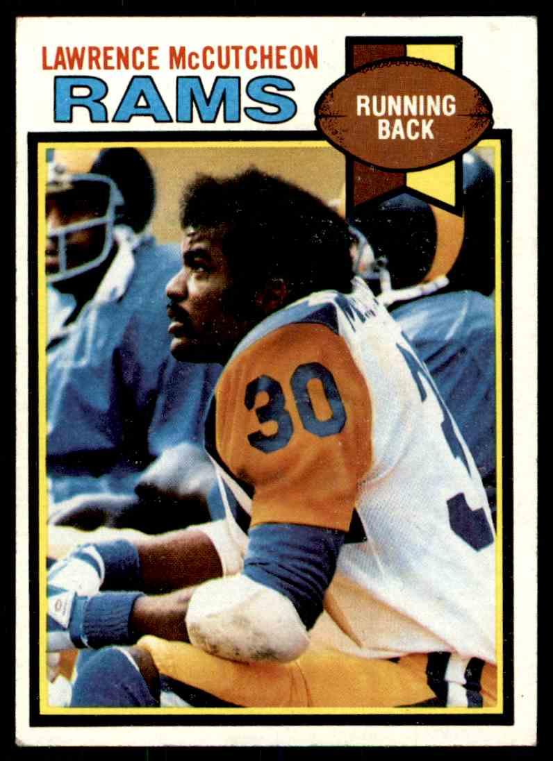 1979 Topps Lawrence McCutcheon #265 card front image