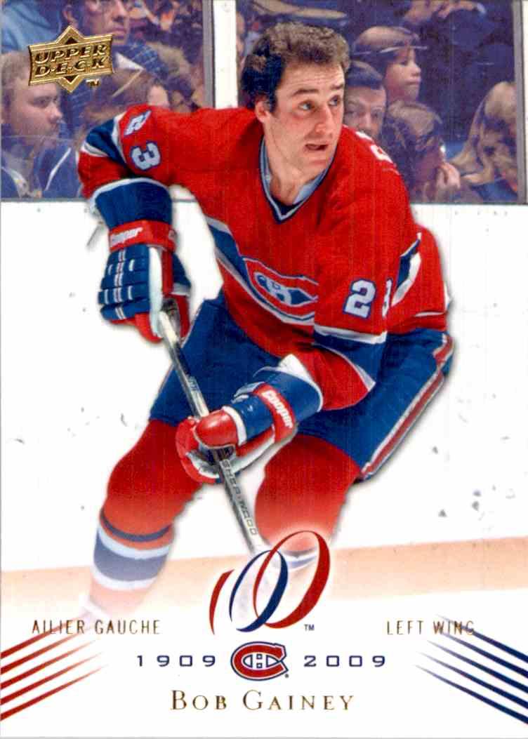 reputable site e8e2a 99781 2008-09 Upper Deck Montreal Canadiens Centennial Set Bob ...