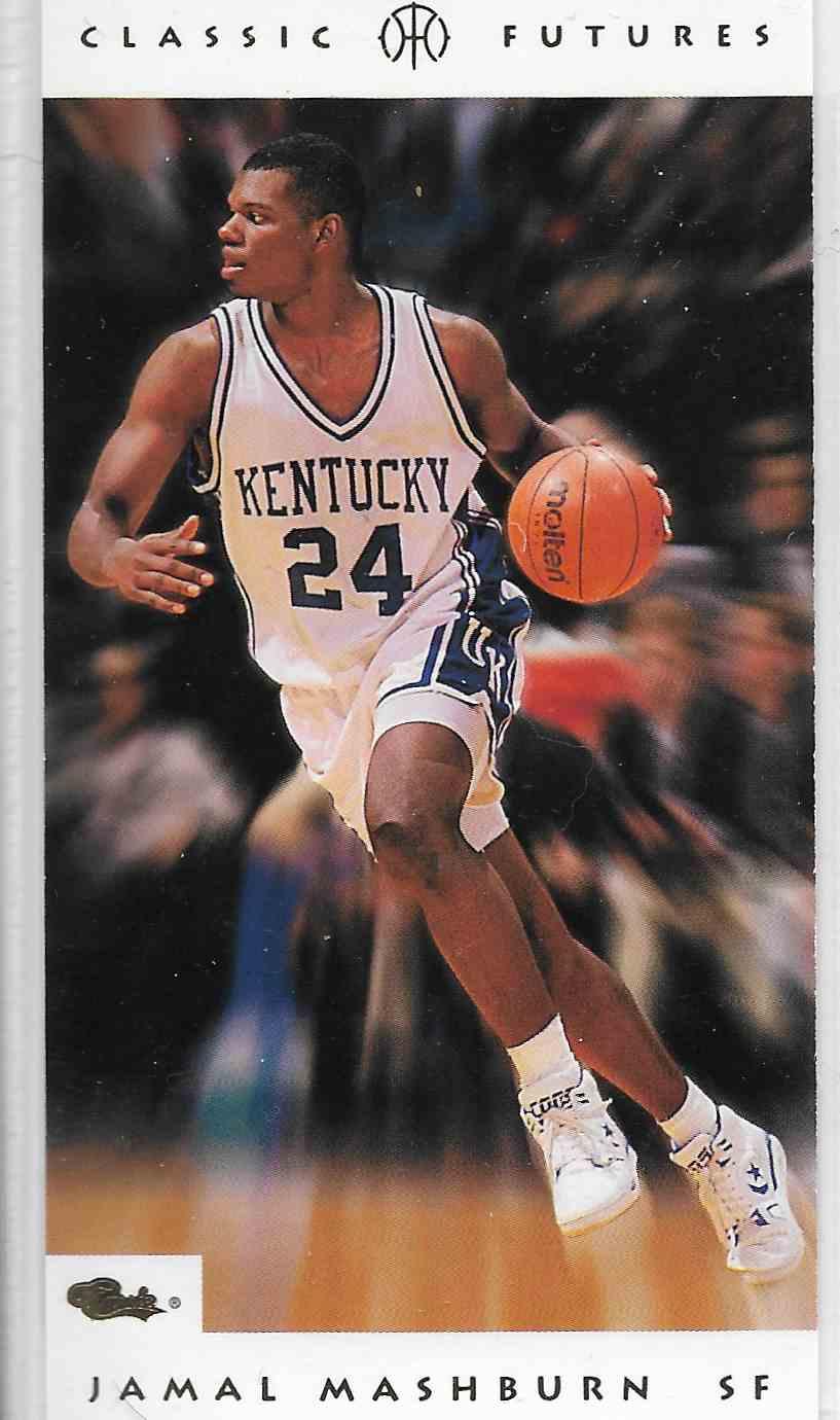 1993-94 Classic Futures Jamal Mashburn #5 card front image