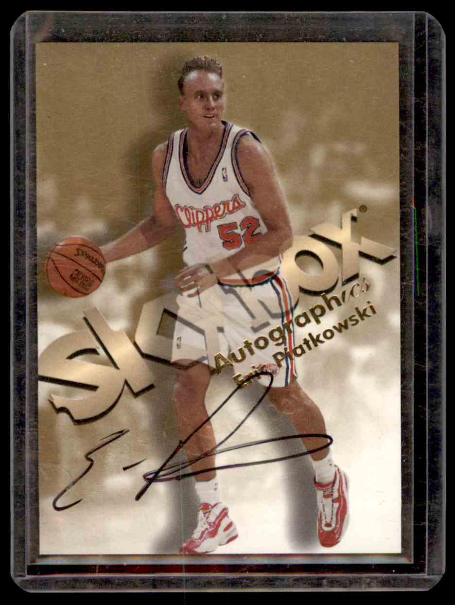 1998-99 Skybox Premium Autographics Eric Piatkowski #95 card front image