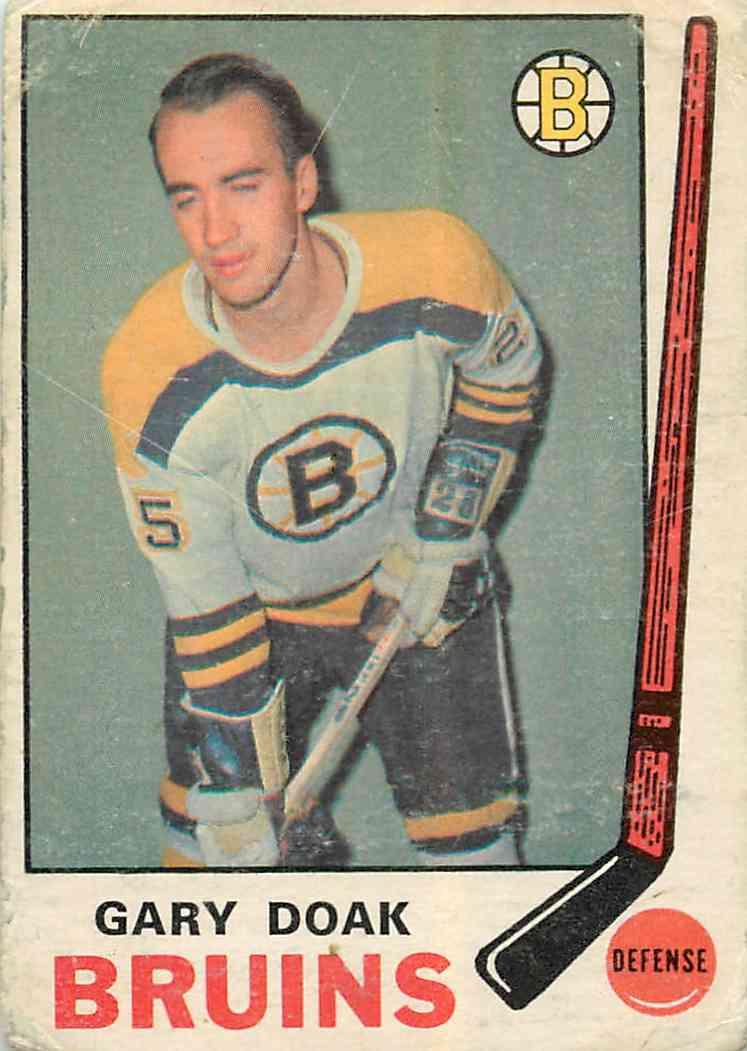 1969-70 Topps Gary Doak #202 card front image
