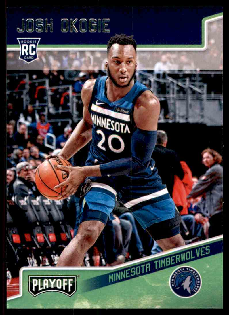 2018-19 Panini Chronicles Josh Okogie/Playoff #172 card front image