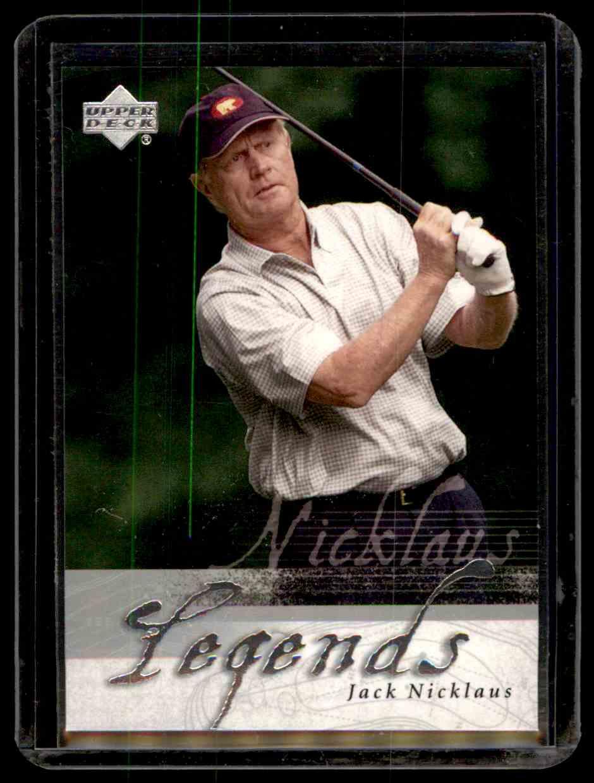2002 Upper Deck Silver Jack Nicklaus #50 card front image