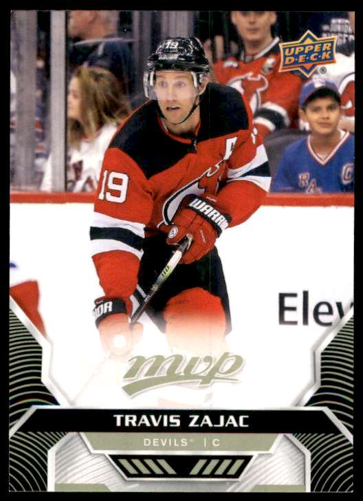2020-21 Upper Deck MVP Travis Zajac #131 card front image