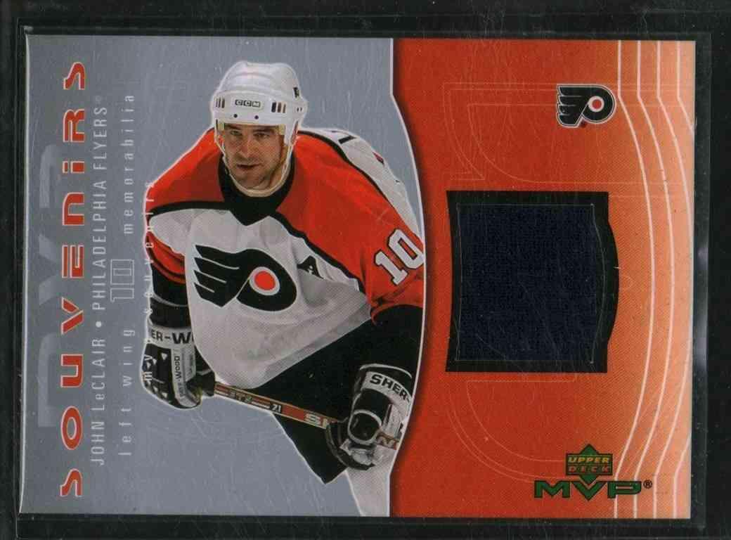 2003-04 Upper Deck MVP John Leclair #S10 card front image