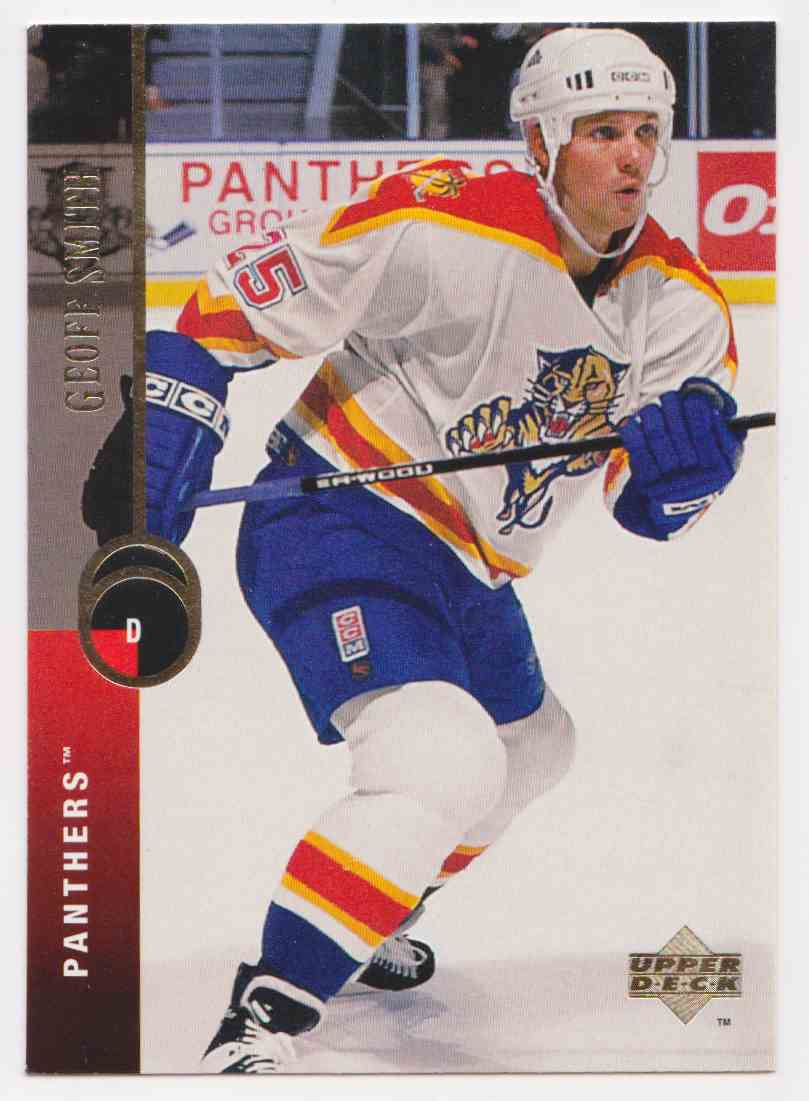 1994-95 Upper Deck Geoff Smith #109 card front image