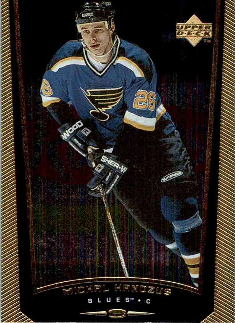 1998-99 Upper Deck Gold Reserve Michal Handzus #363 card front image