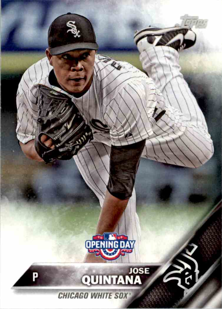 2016 Topps Opening Day Jose Quintana #OD-170 card front image