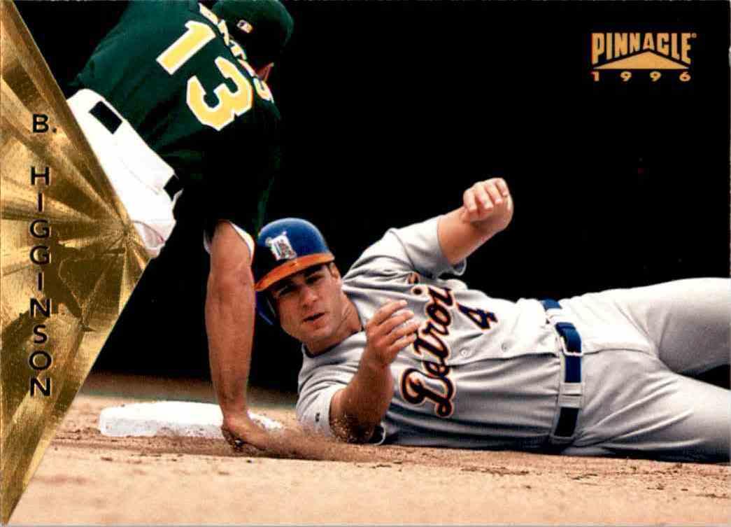 1996 Pinnacle Bobby Higginson #102 card front image