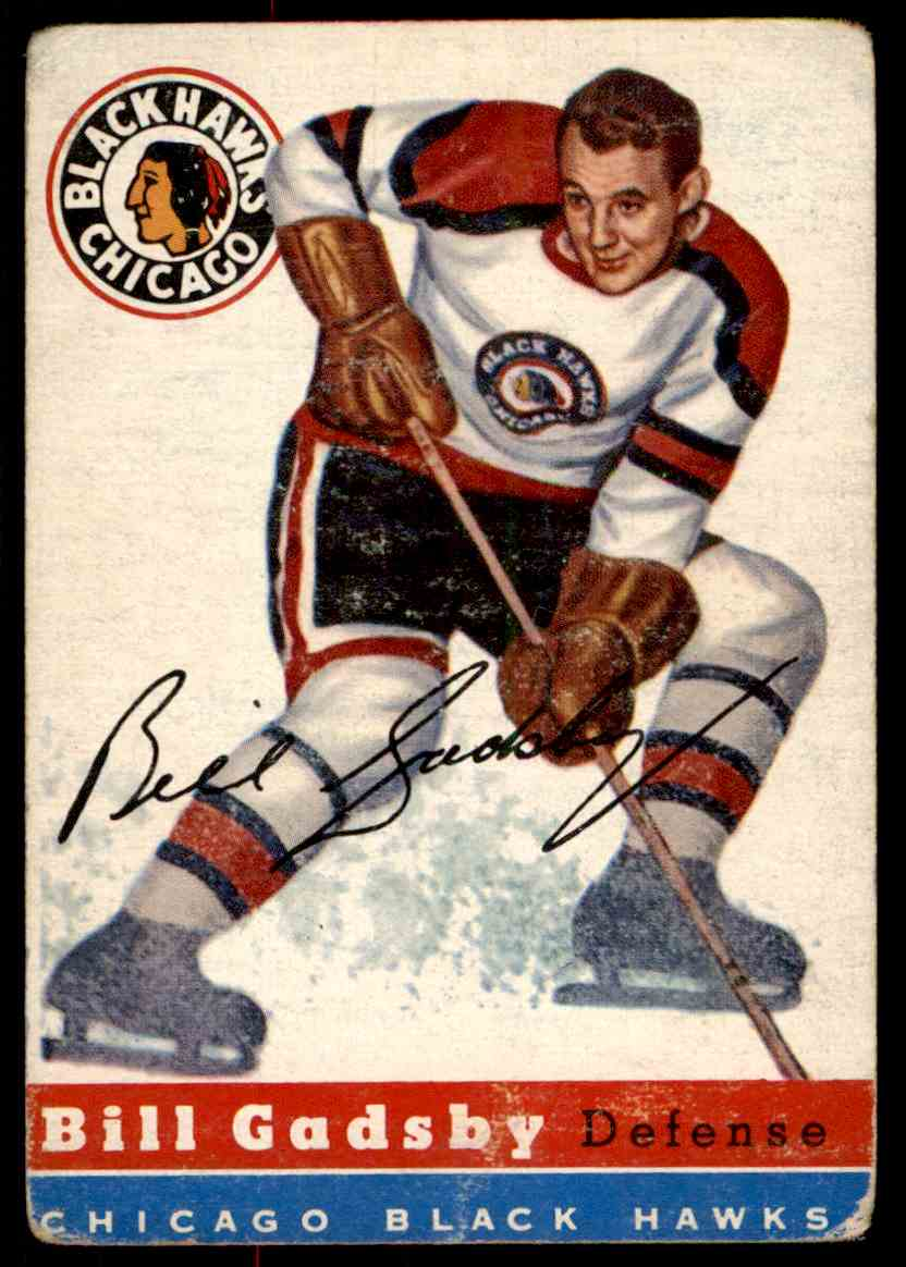1954-55 Topps Bil Gadsby #20 card front image