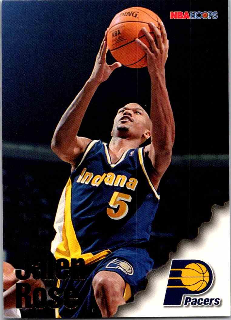 1997-98 NBA Hoops Jalen Rose #213 card front image