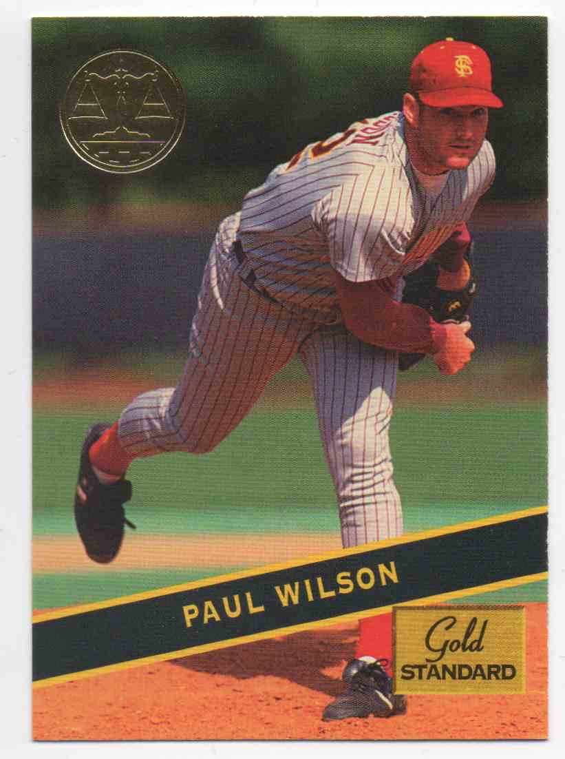 1994 Signature Rookies Gold Standard Paul Wilson #74 card front image
