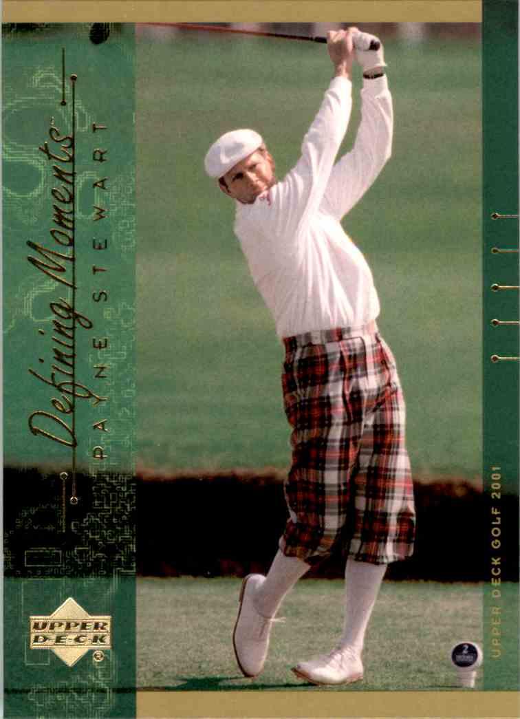 2001 Upper Deck Payne Stewart DM #139 card front image