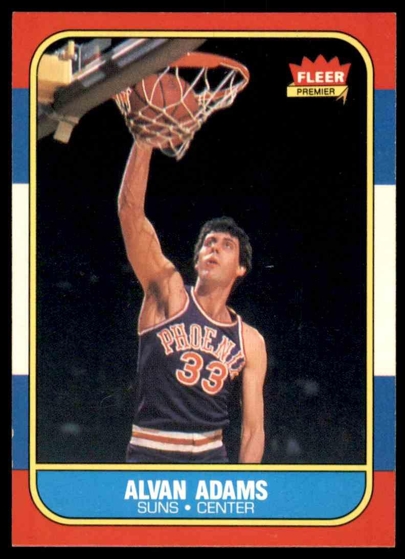 1986-87 Fleer Alvan Adams #2 OF 132 card front image