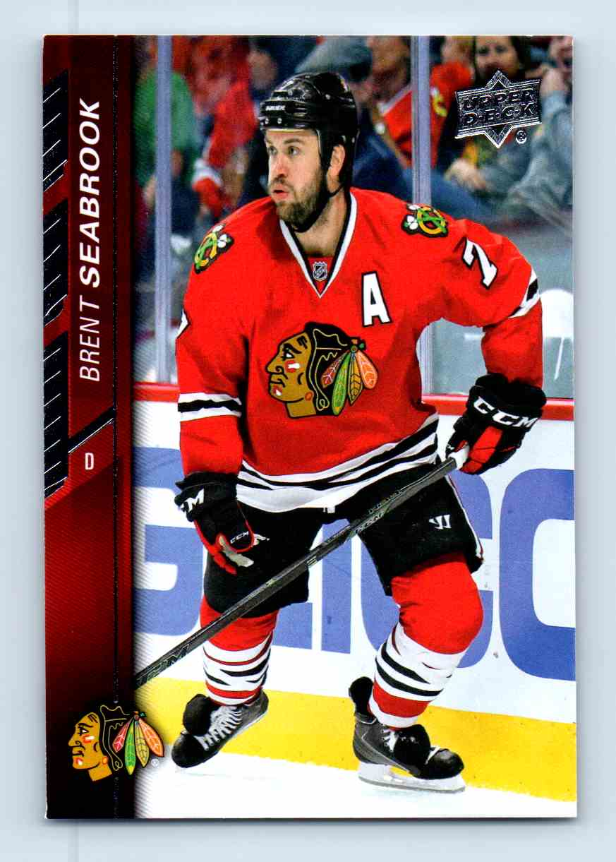 2015-16 Upper Deck Series Two Brent Seabrook #296 card front image