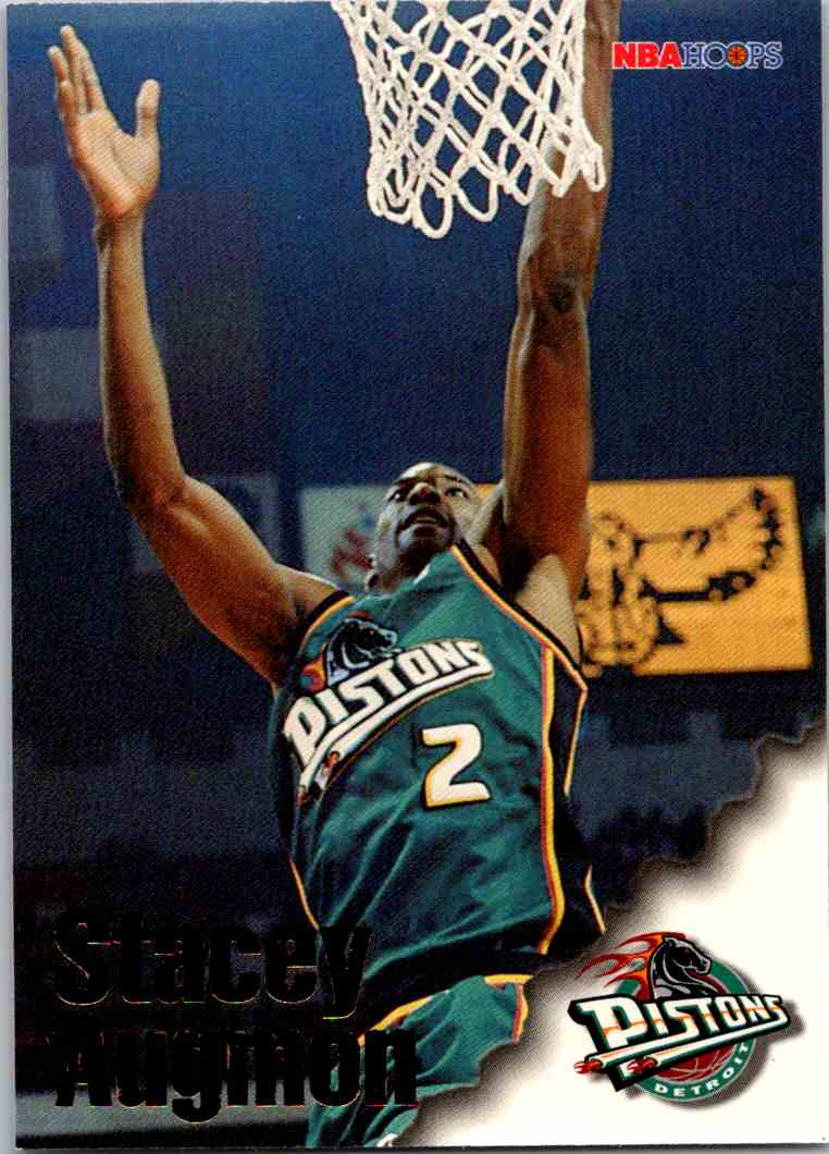 1997-98 NBA Hoops Stacey Augmon #209 card front image