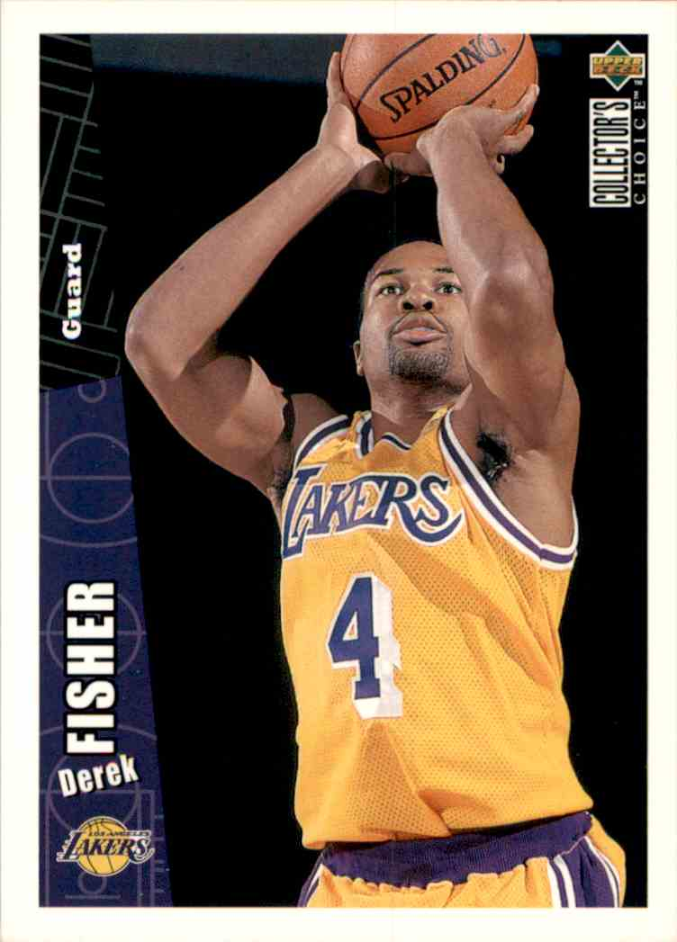 1996-97 Collector's Choice Derek Fisher #269 card front image