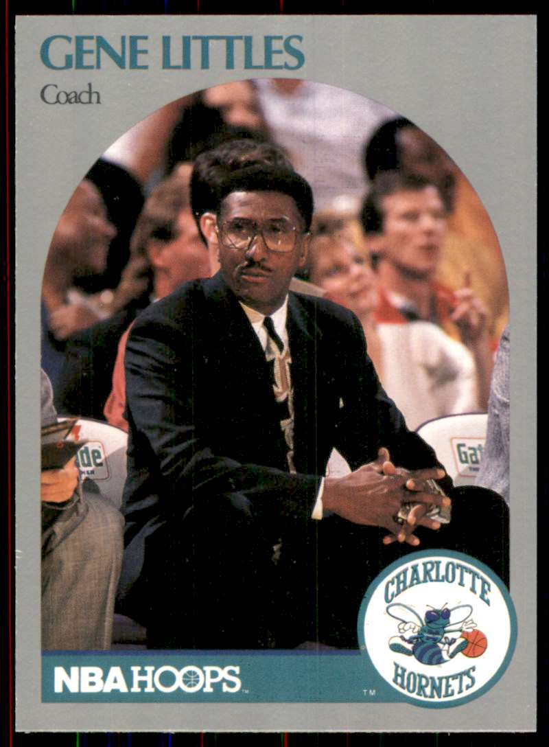 1990-91 Hoops Gene Littles Co #307 card front image