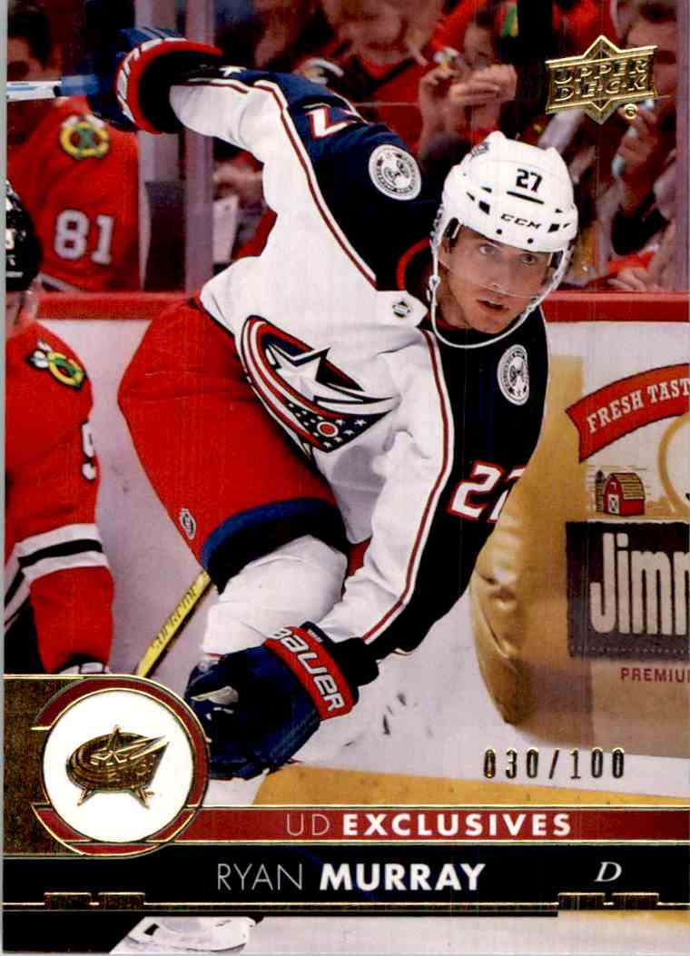 2017-18 Upper Deck Exclusives Ryan Murray #304 card front image