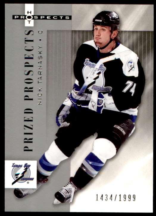 2006-07 Fleer Hot Prospects Nick Tarnasky #171 card front image