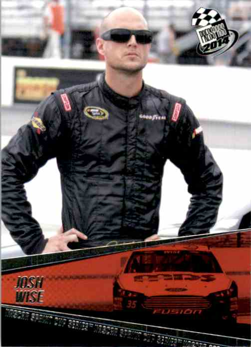 2014 Press Pass Josh Wise #40 card front image