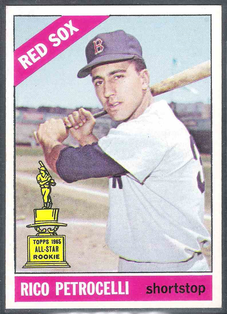1966 Topps Rico Petrocelli Nm- #298 card front image