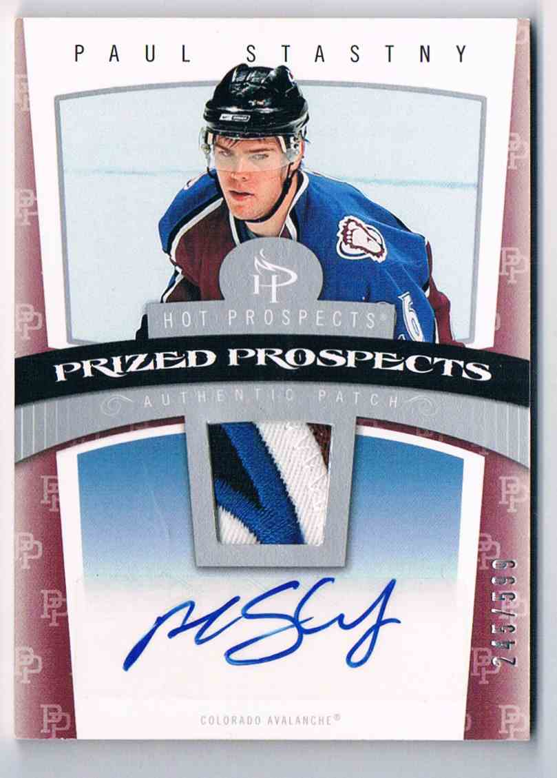 2006-07 Hot Prospects Paul Stastny #108 card front image