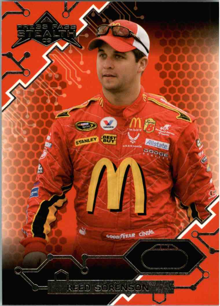 2009 Press Pass Stealth Reed Sorenson #30 card front image