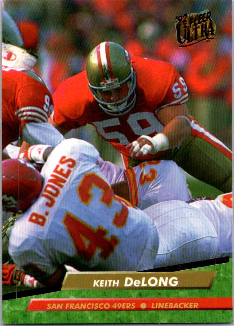 1992 Fleer Ultra Keith DeLong #361 card front image