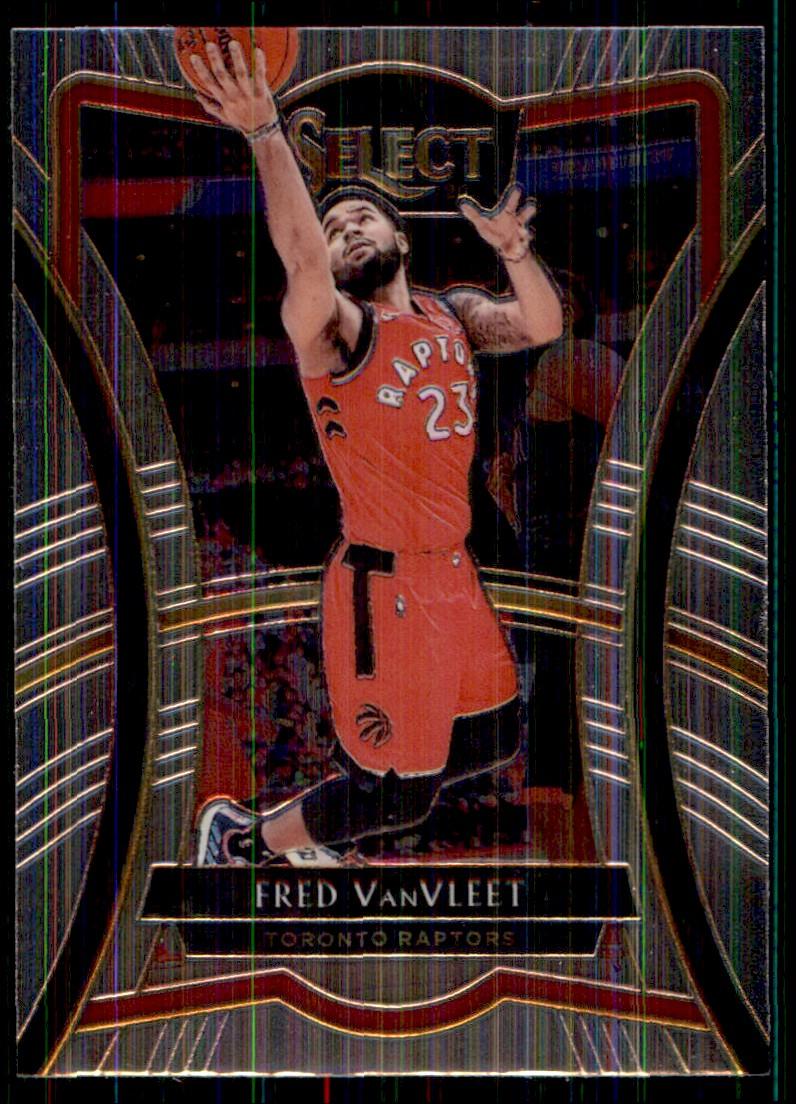 2019-20 Panini Select Fred VanVleet #128 card front image