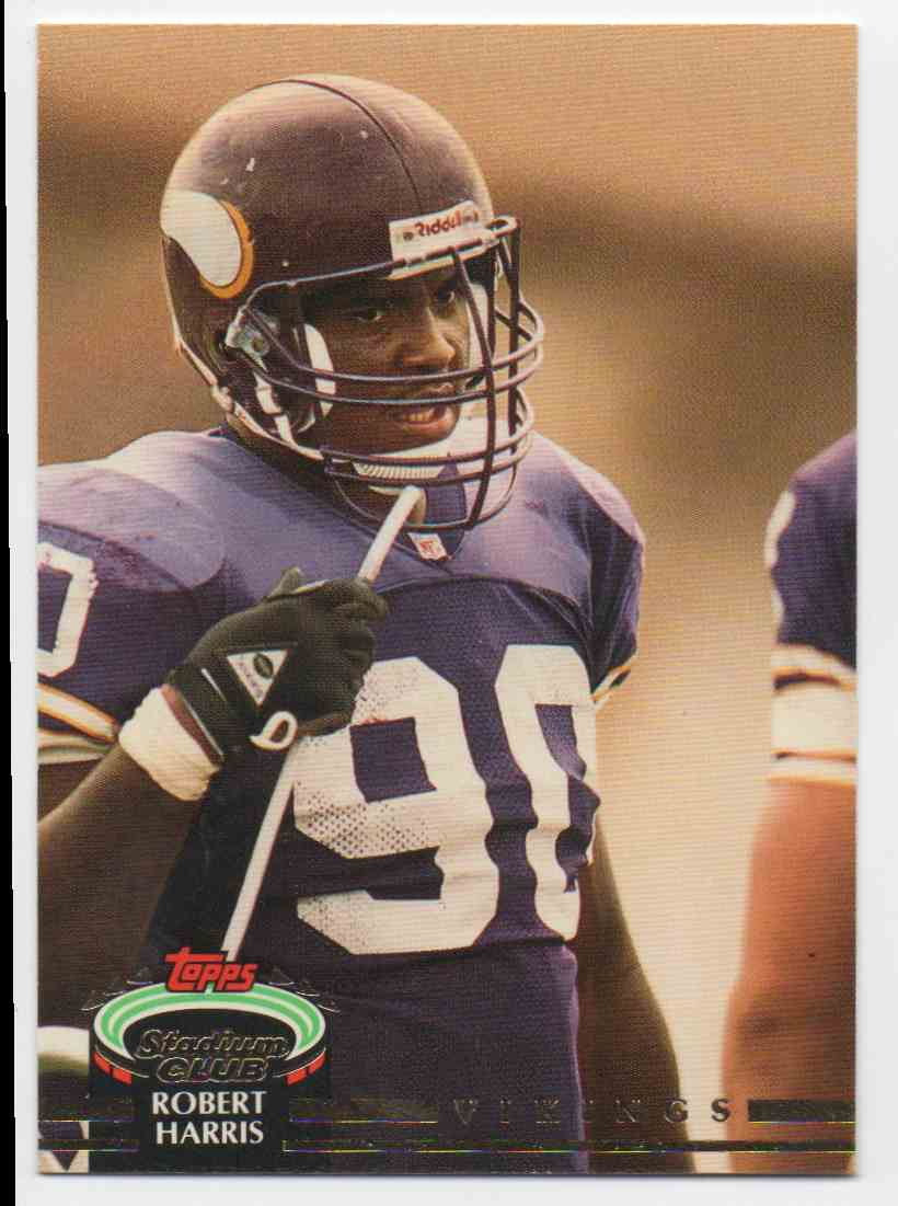 1992 Stadium Club Robert Harris #659 card front image