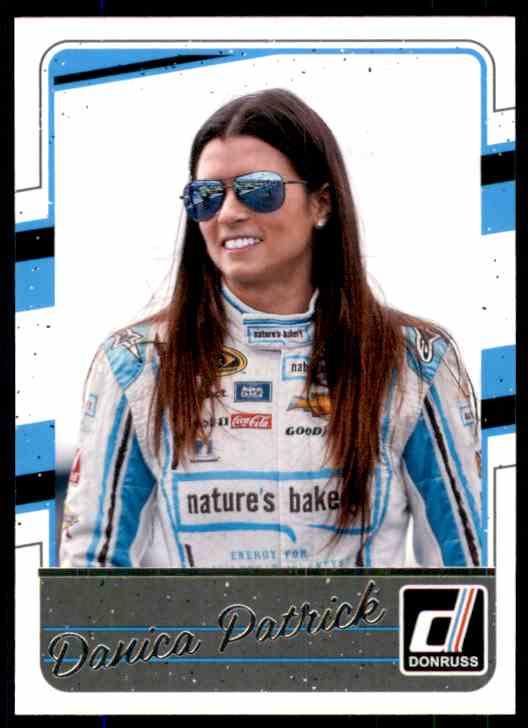 2017 Donruss Danica Patrick #52 card front image