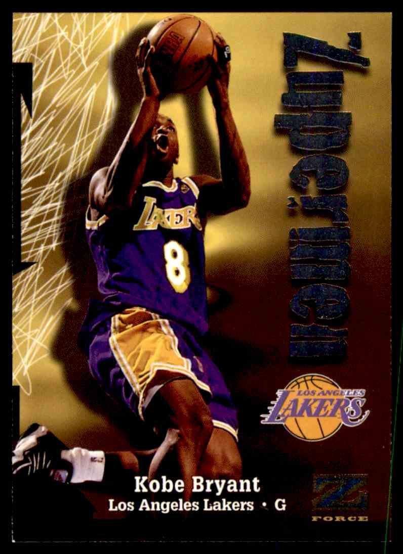 1998-99 Skybox Z-Force Kobe Bryant #195 card back image