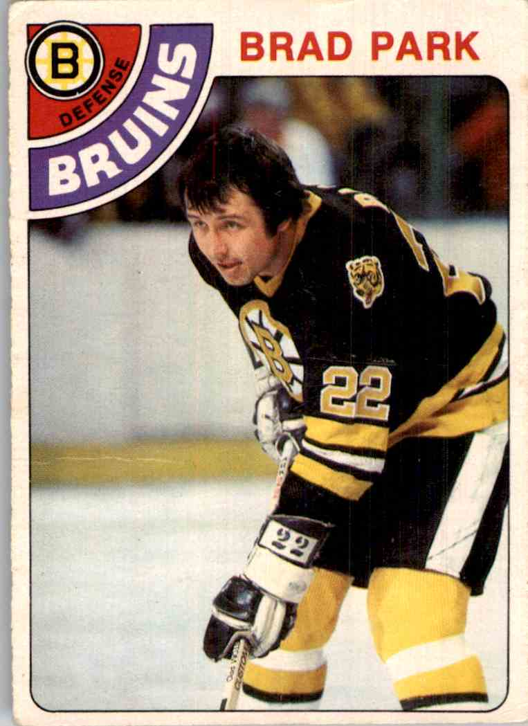 1978-79 O-Pee-Chee Brad Park #79 card front image