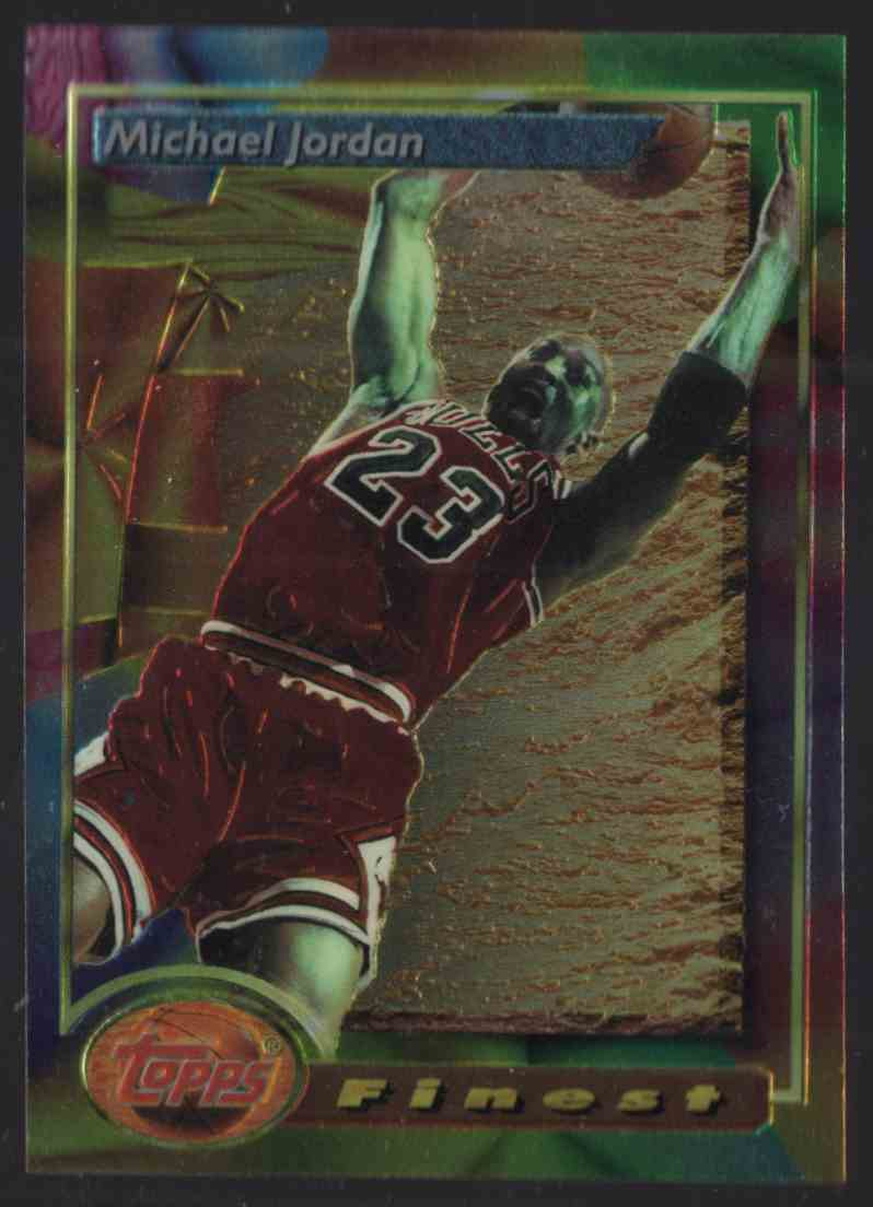 1993-94 Finest Michael Jordan #1 card front image