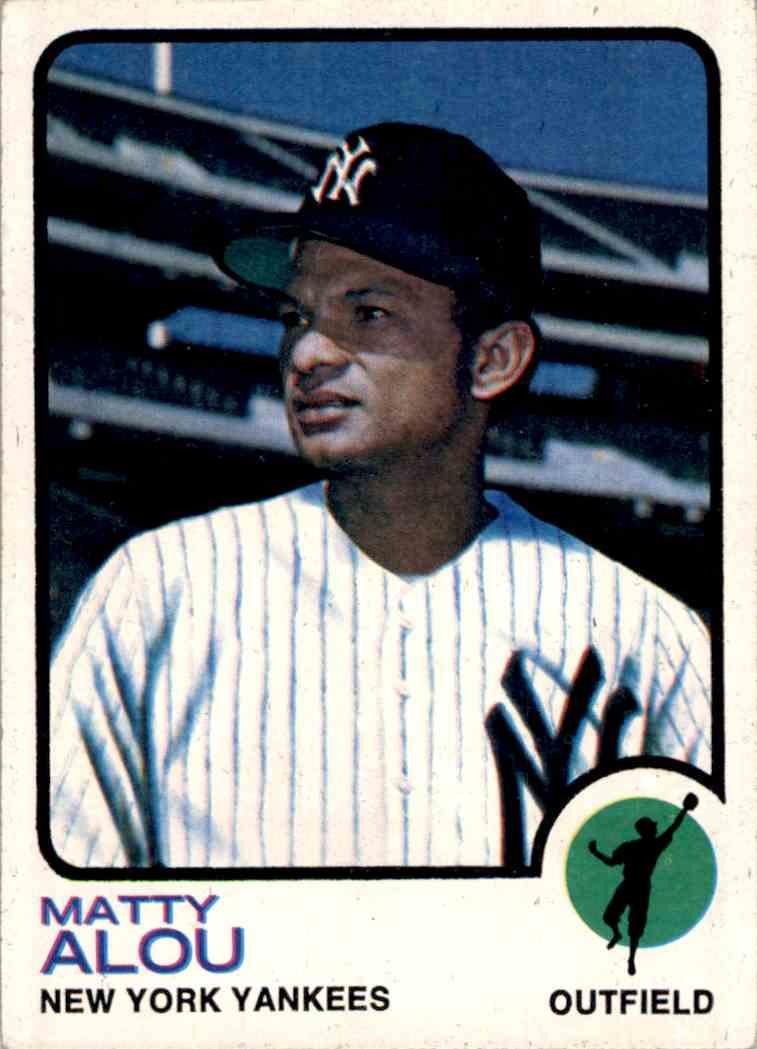 1973 Topps Matty Alou #132 card front image