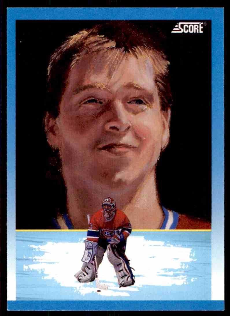 1991-92 Score Patrick Roy #372 card front image